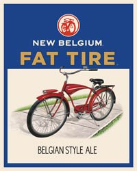 New Belgium Fat Tire Logo