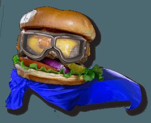 Halloween Super Burger