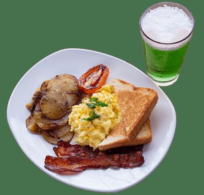 Kegs and Eggs Breakfast Plate
